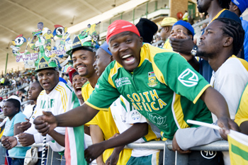 In South Africa, World's Obsession With'Other' Football Kicks Into Gear