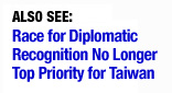 Push for Diplomatic Recognition Creates Tricky Precedents, Strange Bedfellows