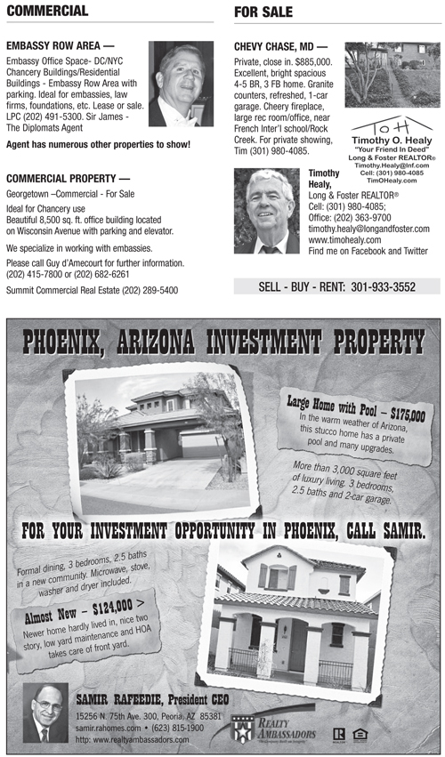 Real Estate Classifieds – February 2012