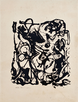 Trio of Abstract Expressionists in 'Angels, Demons, and Savages'