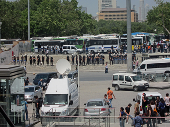 Before Turkey Clamped Down on Protesters, Media Felt the Heat