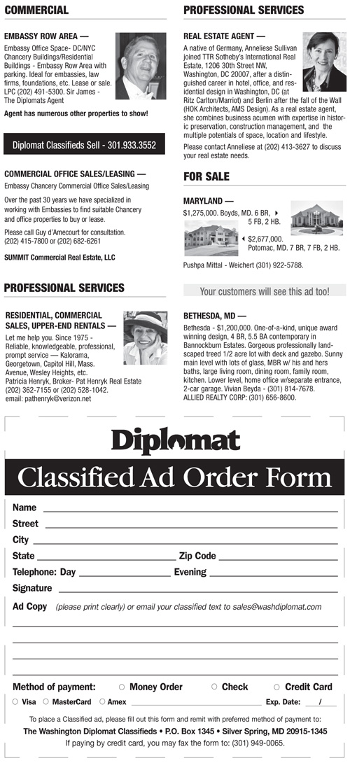 Real Estate Classifieds – July 2013