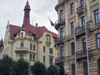 Latvian Embassy Showcases Architectural Gems in Riga, D.C.