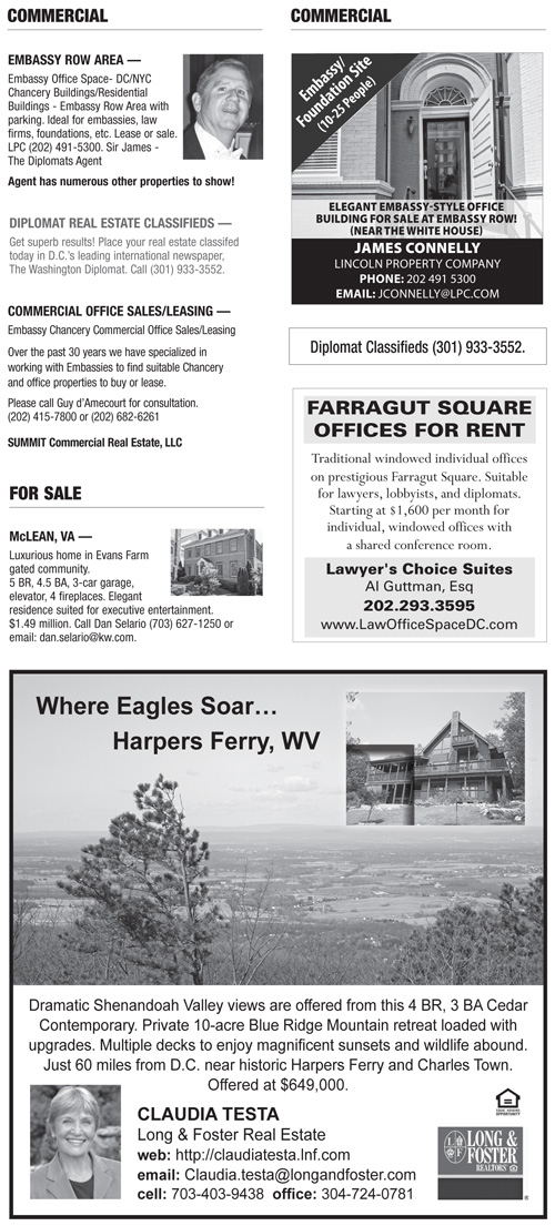 Real Estate Classifieds – September 2013