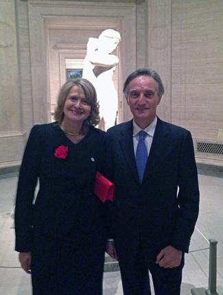 Laura Denise: Italy's Cultural, Social Maven in Washington