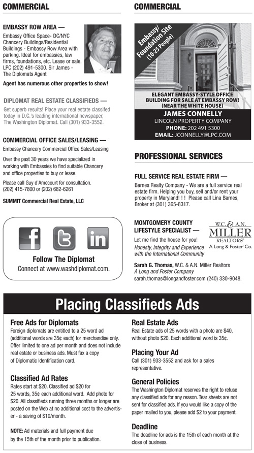 Real Estate Classifieds – October 2013