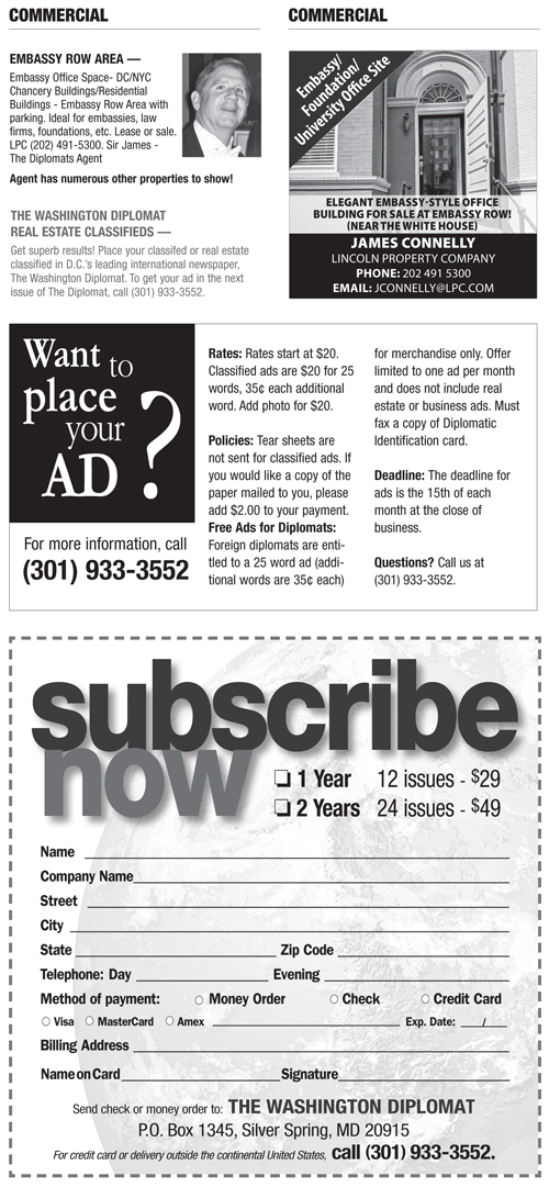 Real Estate Classifieds – January 2014