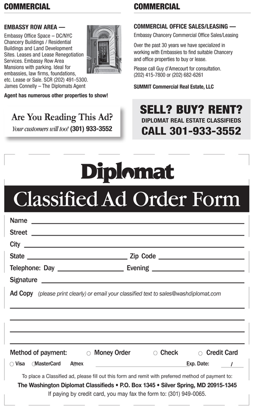 Real Estate Classifieds – May 2014
