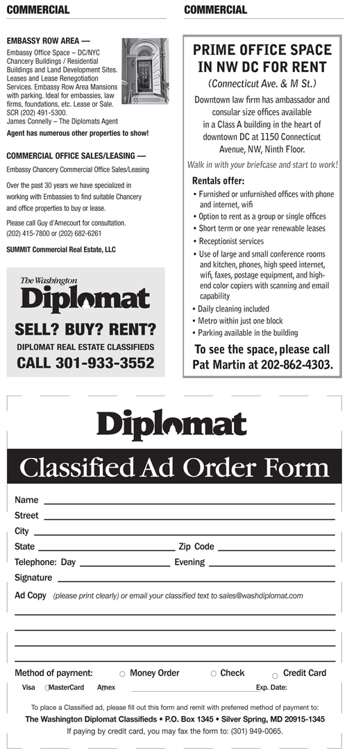 Real Estate Classifieds – September 2014