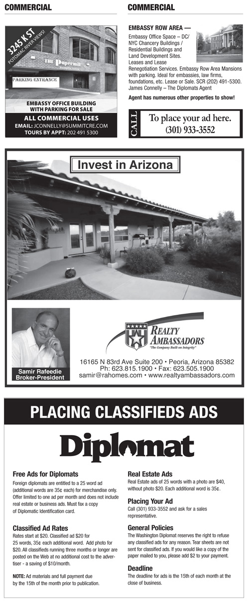 Real Estate Classifieds – July 2015