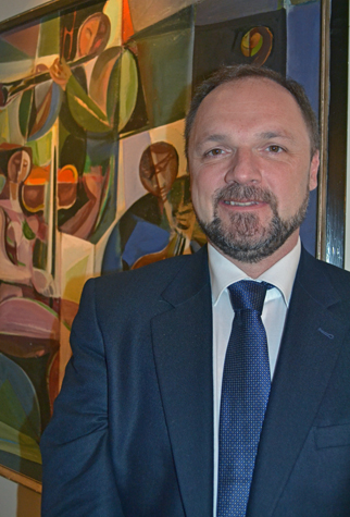 Hungarian Husband Pulls Double Duty in Two Capitals