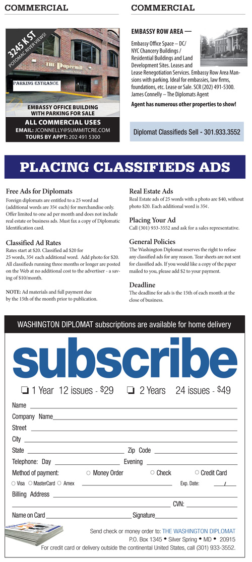 Real Estate Classifieds – February 2016