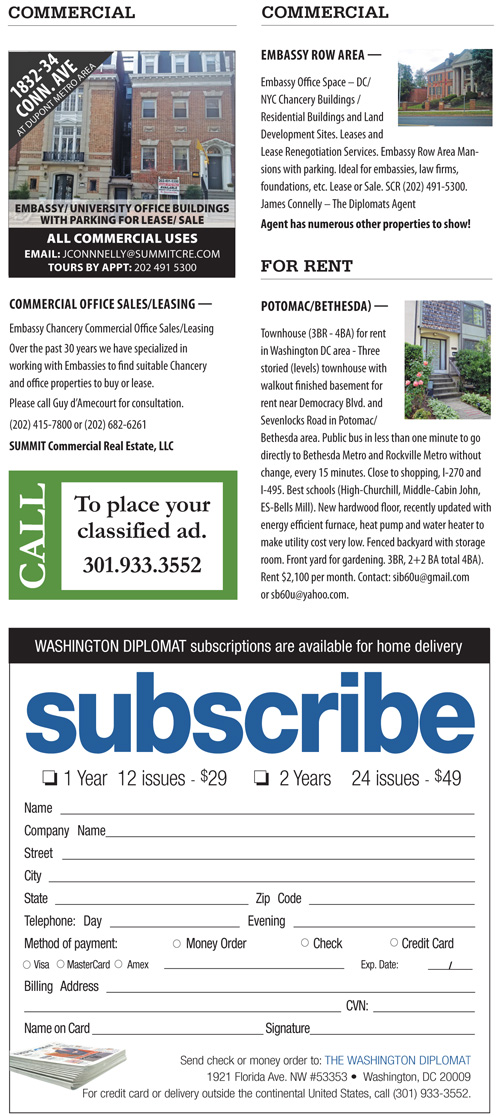 Real Estate Classifieds – March 2017