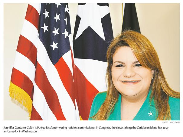 Jenniffer González, Weathering the Storm, Is Puerto Rico's Voice in Washington