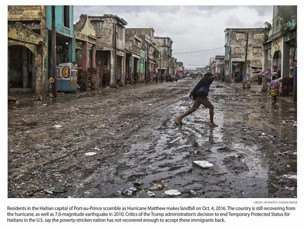 TPS Ends for Haiti, Nicaragua; El Salvador, Honduras Still in Question