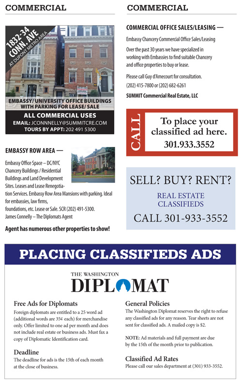 Real Estate Classifieds – January 2018