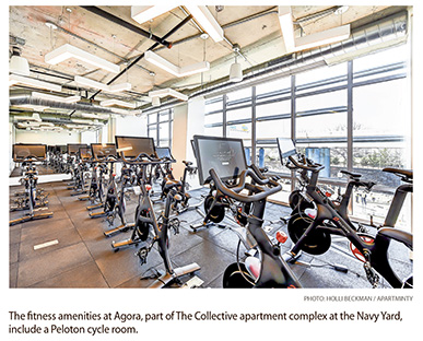 Upscale D.C. Properties Flex Their Muscle with High-End Fitness Facilities