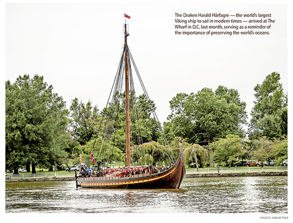 Op-Ed: U.S. Visit of Viking Ship Serves as Reminder of Importance of Oceans