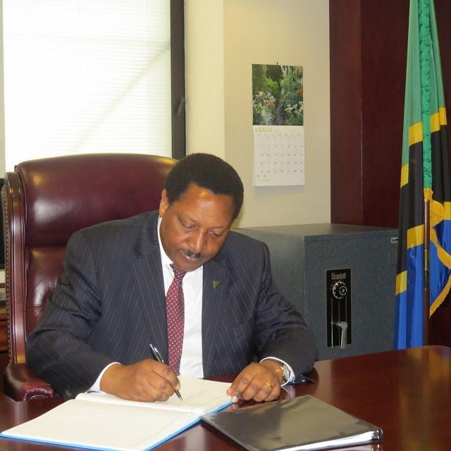 Ambassador Wilson Masilingi