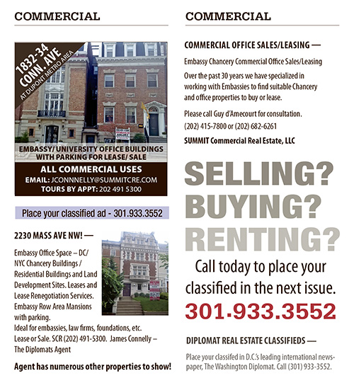 Real Estate Classifieds – November 2018