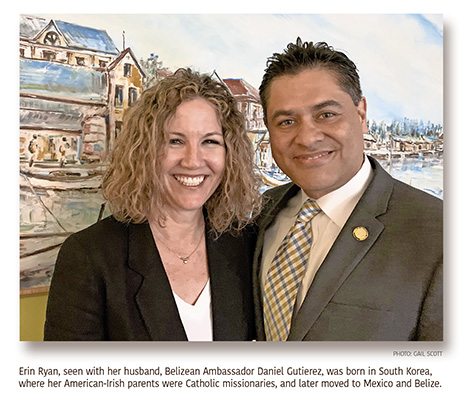 American-Irish Wife of Belizean Ambassador Touts Their Tropical Paradise