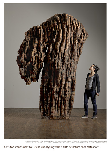 Monumental Sculptures Reveal the Elusive Inner Workings of an Artist