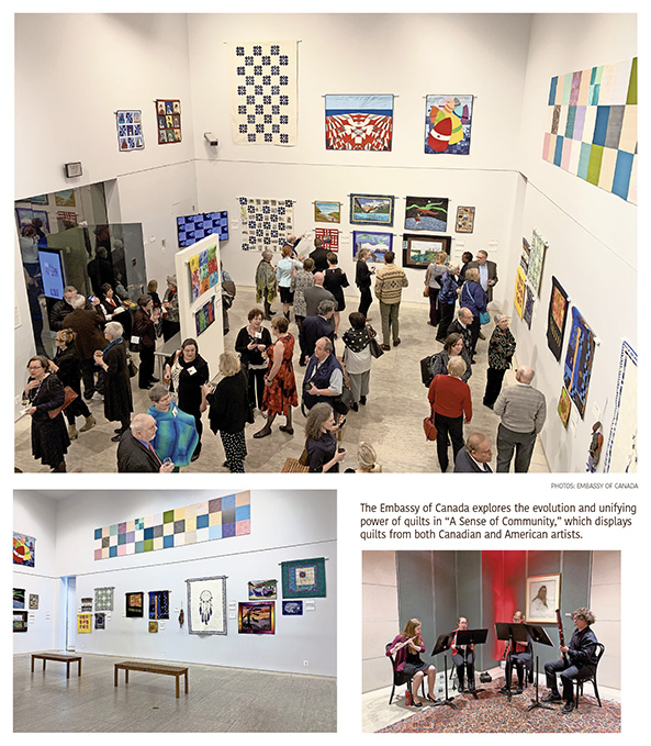 Quilts Weave Together History and Art in 'Sense of Community'