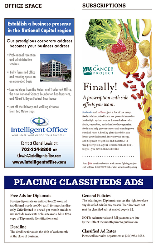 Classifieds – May 2019