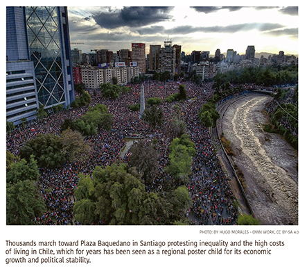 Inequality, Corruption, Other Grievances Fuel Unrest Throughout Latin America