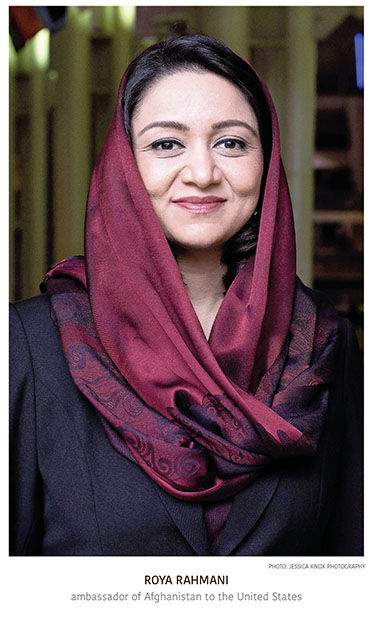 Afghanistan's First Female Ambassador to U.S. Insists Peace Is Still Possible