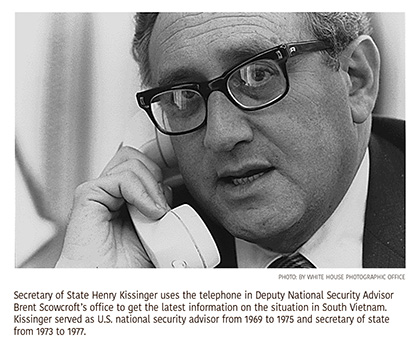 Series of Oral Histories Offers Timely Reflections on Kissinger's Diplomacy and Leadership