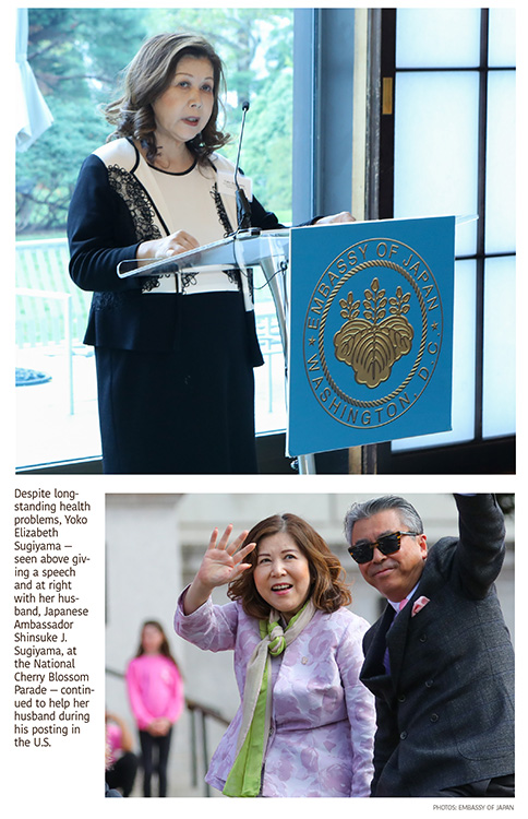 Yoko Elizabeth Sugiyama, Wife of Japanese Ambassador, Dies at 66