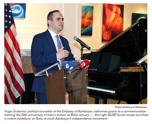 Azerbaijan Commemorates 30th Anniversary of 'Black January'