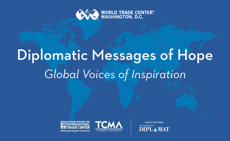 Ronald Reagan Building Spreads 'Diplomatic Messages of Hope'