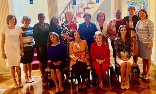 Women envoys turn to D.C. 'power group' for contacts, sisterly advice