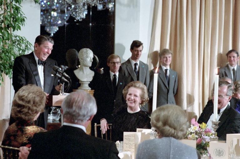 40 years ago: British Embassy hosts Reagan-Thatcher dinner