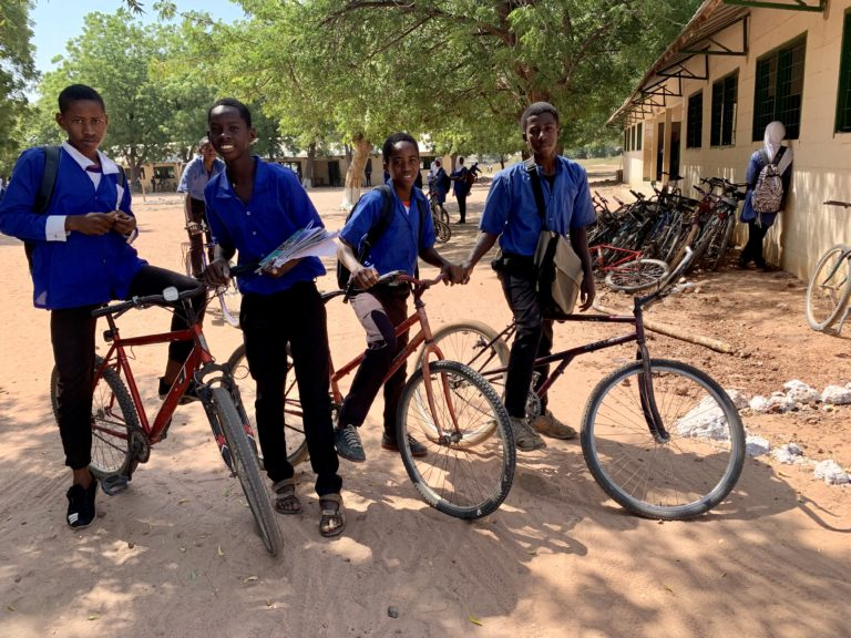 Czech Embassy's 'Ride for Gambia' to help fund bikes for African kids