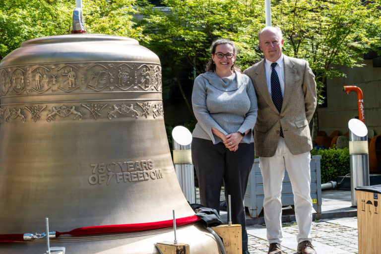 Dutch Embassy unveils 'New Bells of the Netherlands Carillon' exhibit