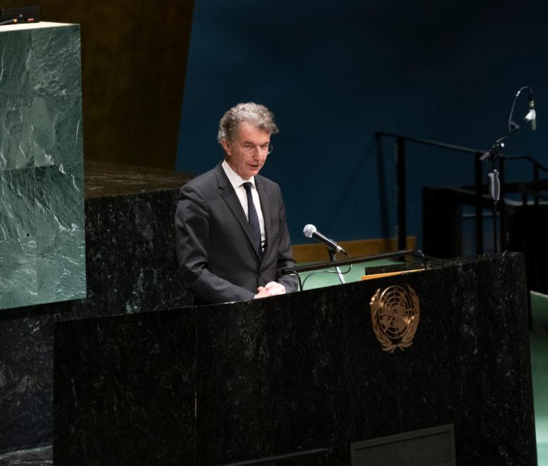 Germany's Plain-Speaking 'Man in New York' Had a Good Run at the U.N.