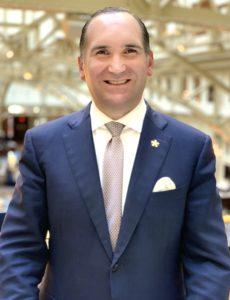 Mickael Damelincourt Trump International Hotel Washington D.C. diplomatic community.