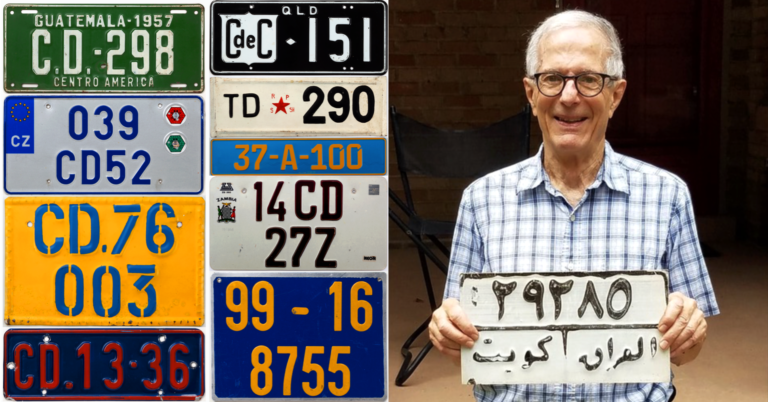 A license to collect: Unraveling the obscure history of diplomatic plates