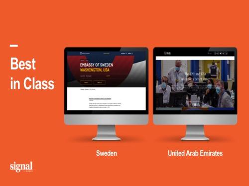 Signal Communications ranks UAE, Sweden best in embassy websites