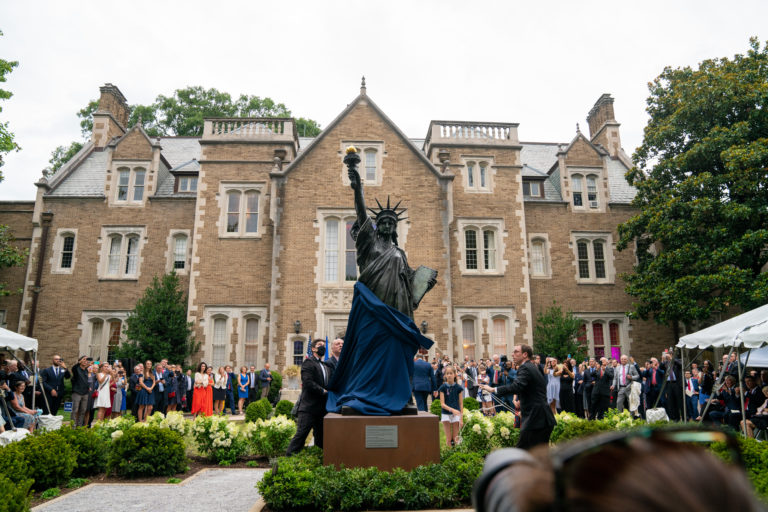 Statue of Liberty's 'Little Sister' Comes to DC to Celebrate US-France Ties