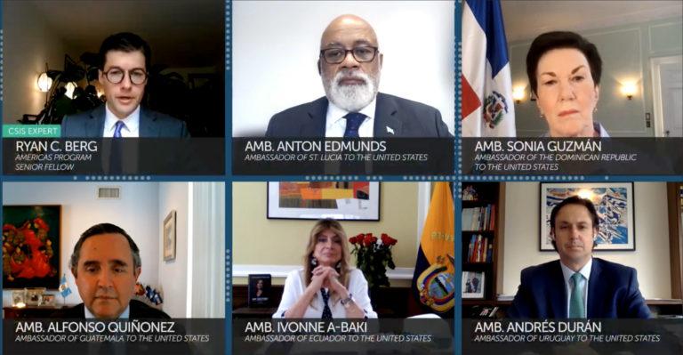 At CSIS panel, 5 ambassadors offer their take on Latin America's future