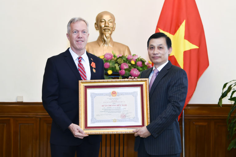 Ted Osius, ex-US envoy in Hanoi, to head US-ASEAN Business Council