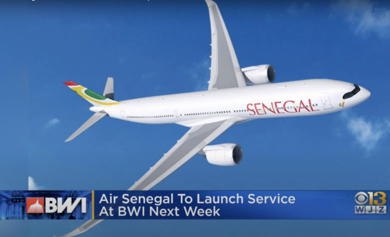 Air Senegal launches BWI-Dakar flights in bid for diaspora business